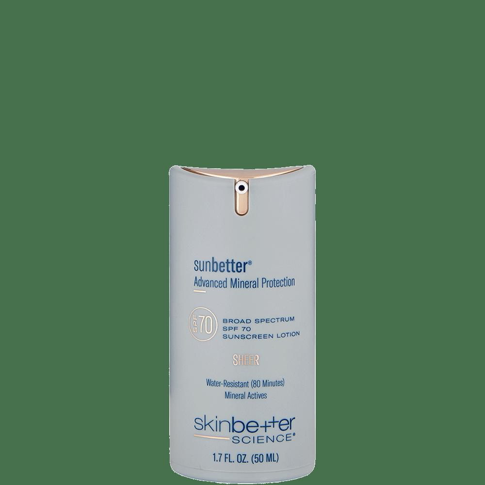 sunbetter Sheer SPF 70 Lotion 50ML Bottle