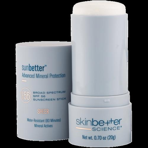sunbetter Sheer SPF 56 Sunscreen Stick 20g Open