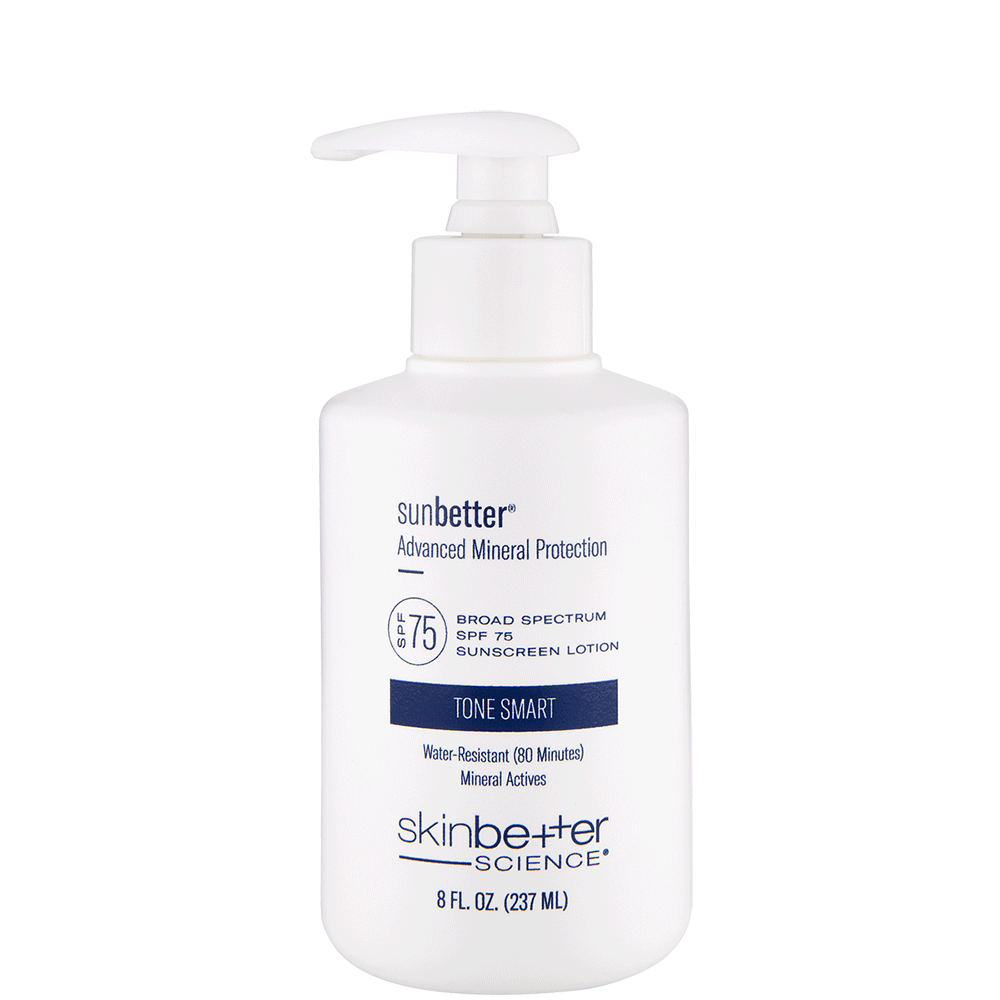sunbetter Tone Smart SPF 75 Lotion BackBar Bottle